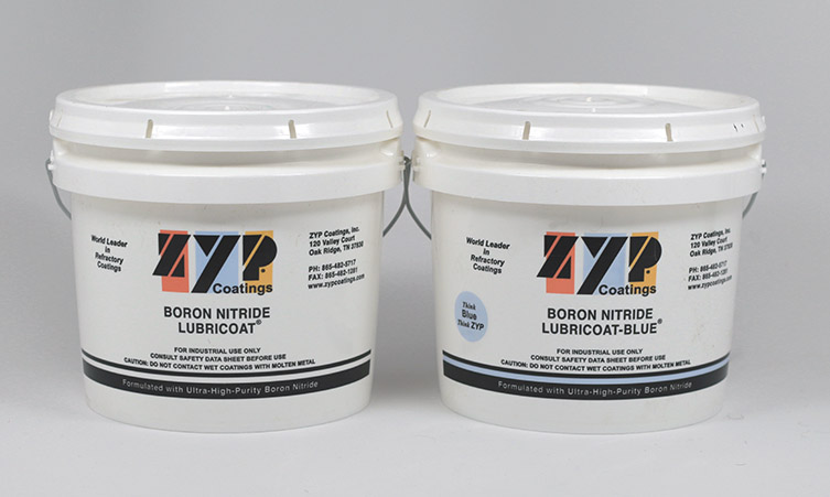BN Lubricoat and Lubricoat Blue - ZYP Coatings Inc